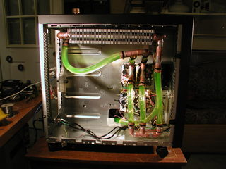 Water cooled computer