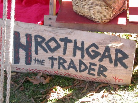 Hrothgar the trader sign.