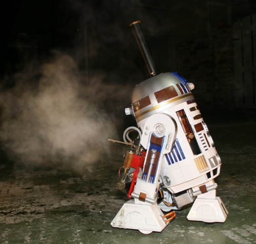 The steam powered R2-D2