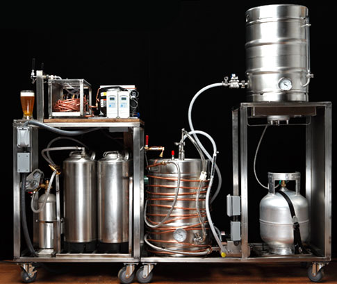 Beer making machine