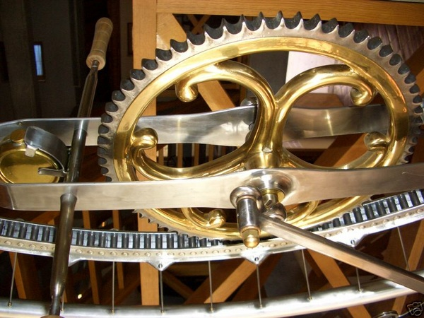 Monocycle Drive Gear