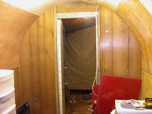 Toilet Side Rear Wall Paneled