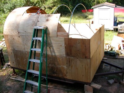 Trailer as it looked this morning