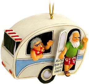 Santa's camper