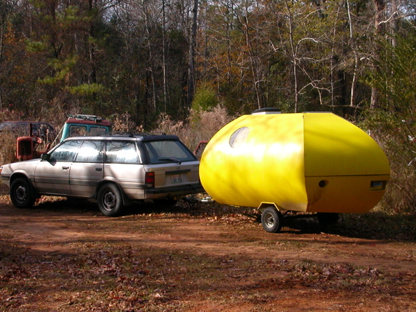 Jelly Bean and Subaru Tow Vehicle